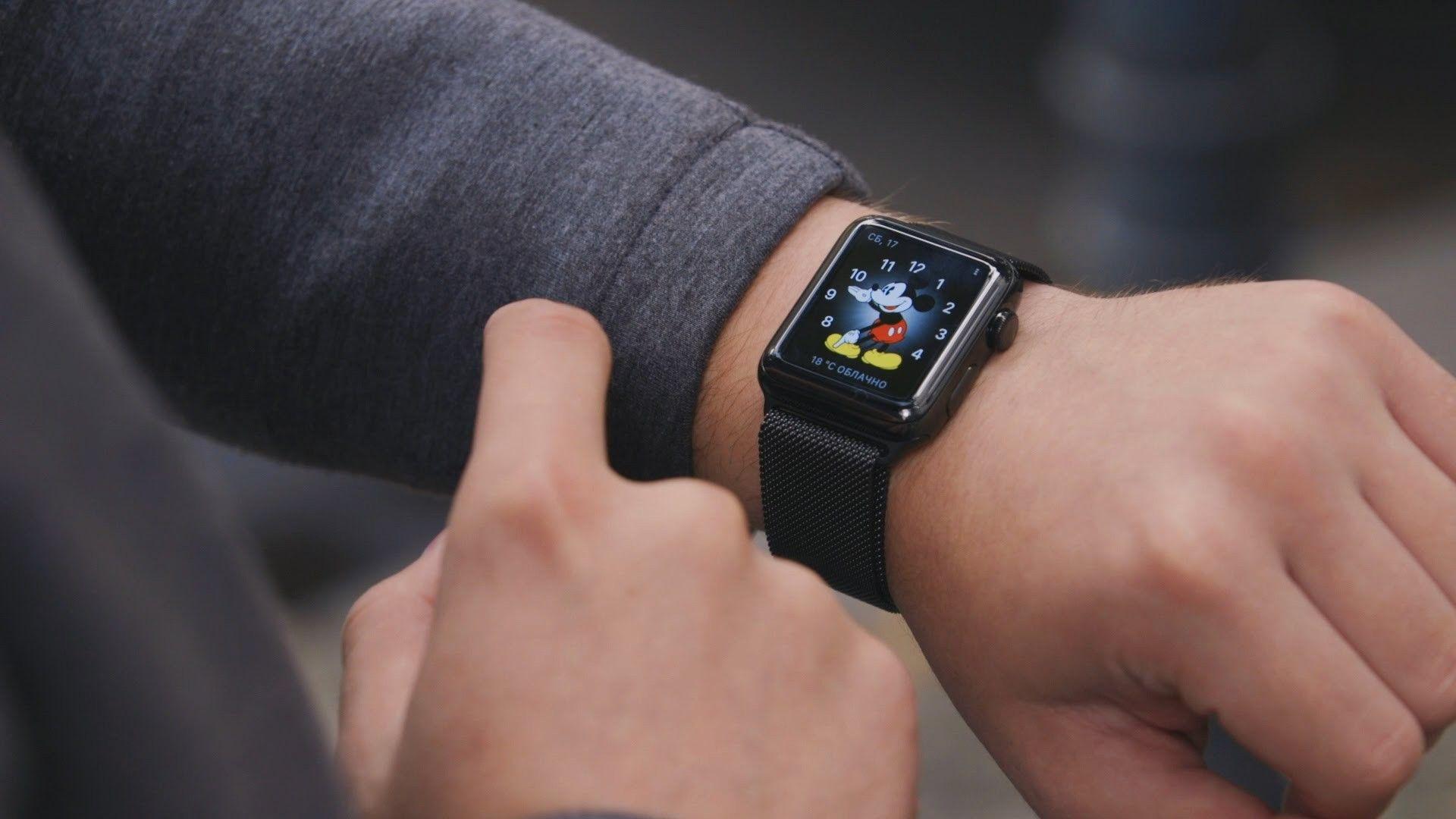 В 2017г Apple продала рекордное число Apple Watch