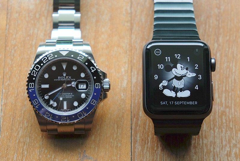 Apple Watch продаются лучше, чем все швейцарские часы