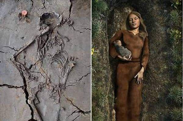 Археологи отыскали древнейшую детскую могилу