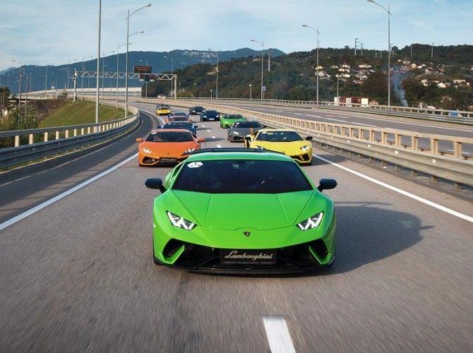 Lamborghini впервый раз обогнала Феррари погодовым продажам в Российской Федерации