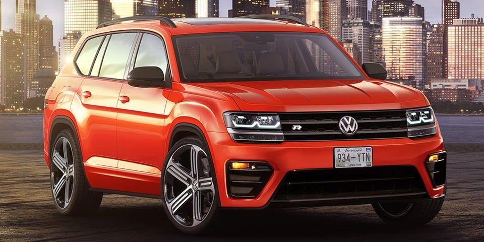 VW Teramont для Российской Федерации
