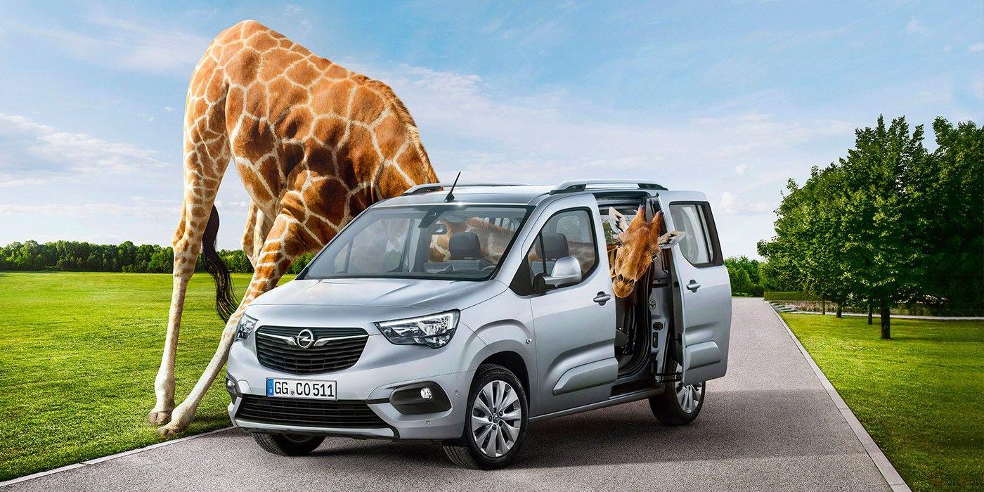 Компания Opel показала обновленный фургон Combo Life