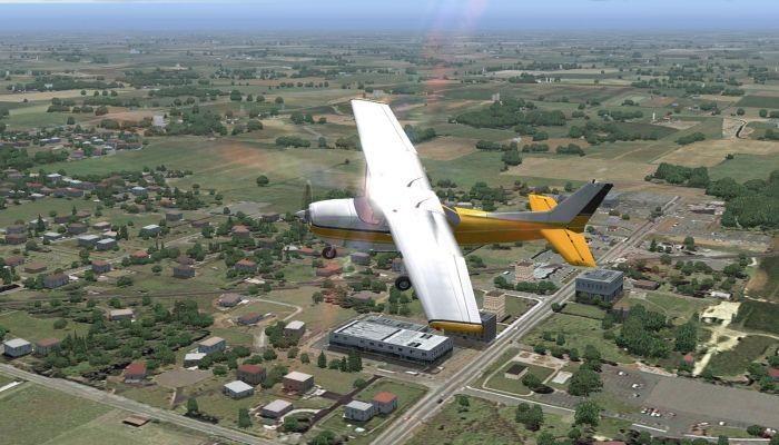 Создатели Flight Simulator Xдобавили вигру вирус