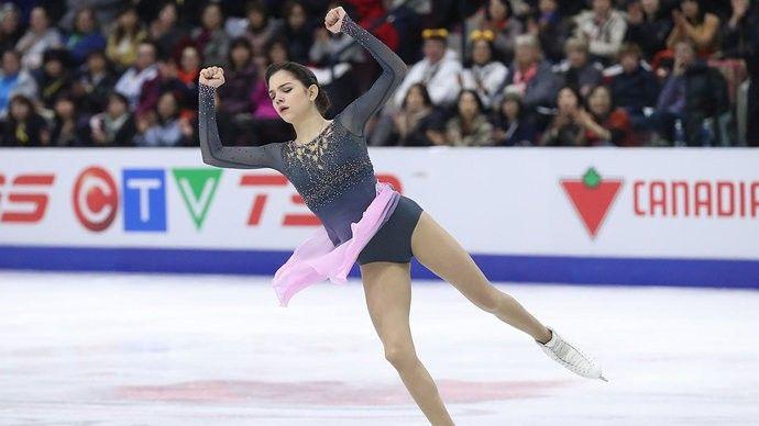 Фигуристка Алина Загитова установила новый мировой рекорд
