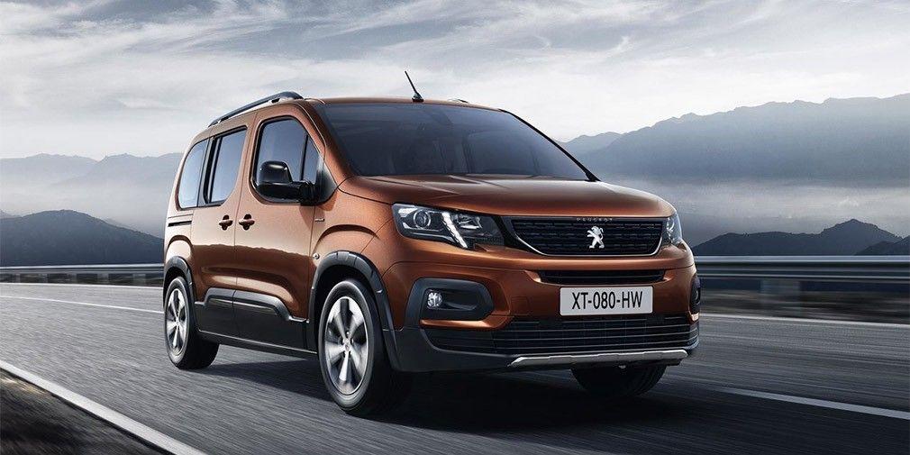 Peugeot (Пежо) представила новый универсал Rifter повышенной вместимости