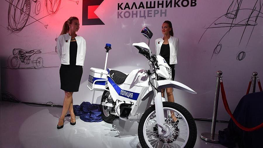 Минобороны получит первые электромотоциклы весной 2018 года
