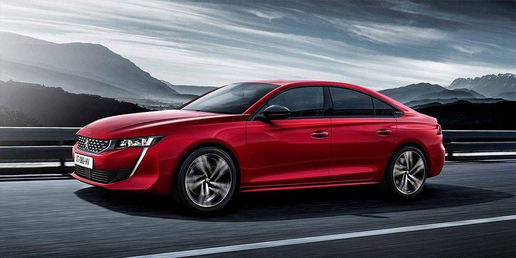 Размещены официальные изображения нового Peugeot (Пежо) 508