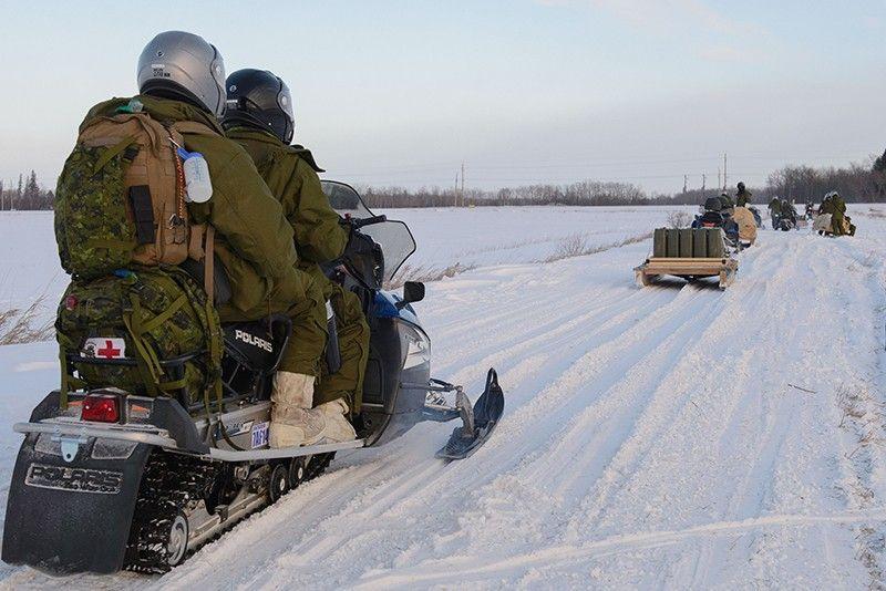 Канада начала большие военные учения вАрктике