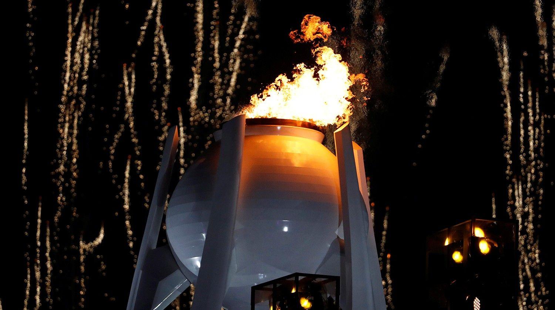 Ошибка дня: организаторы Олимпиады жестко оконфузились вовремя награждения