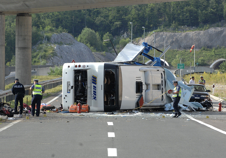 ВЕгипте вДТП савтобусом погибли девять человек