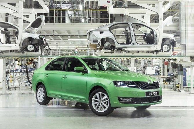 Производство автомобилей Volkswagen в 2017 году в России увеличилось на14%