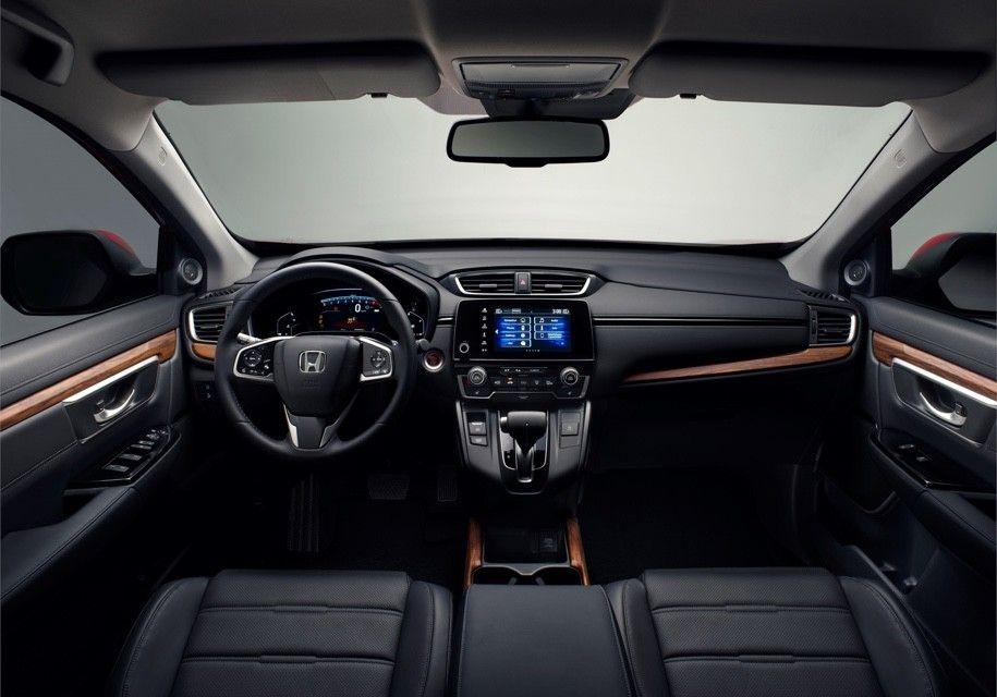 Кроссовер Honda CR-V стал трехрядным гибридом