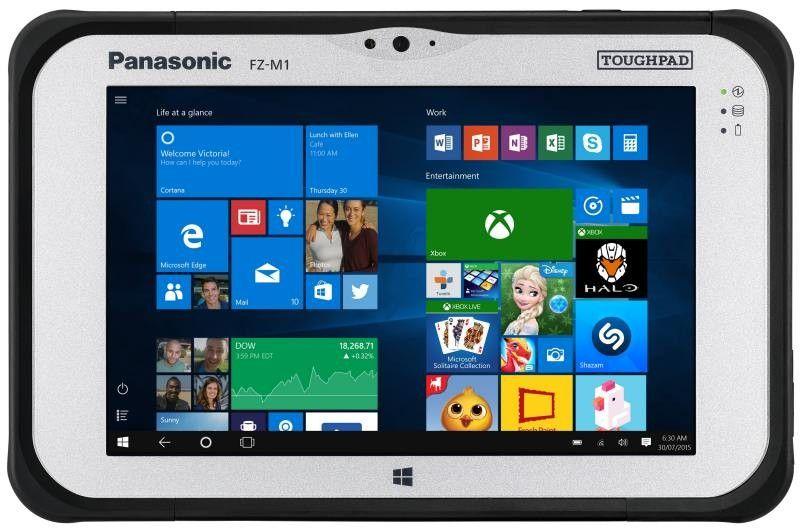 Panasonic представила защищенный планшет Toughpad FZ-M1с тепловизором