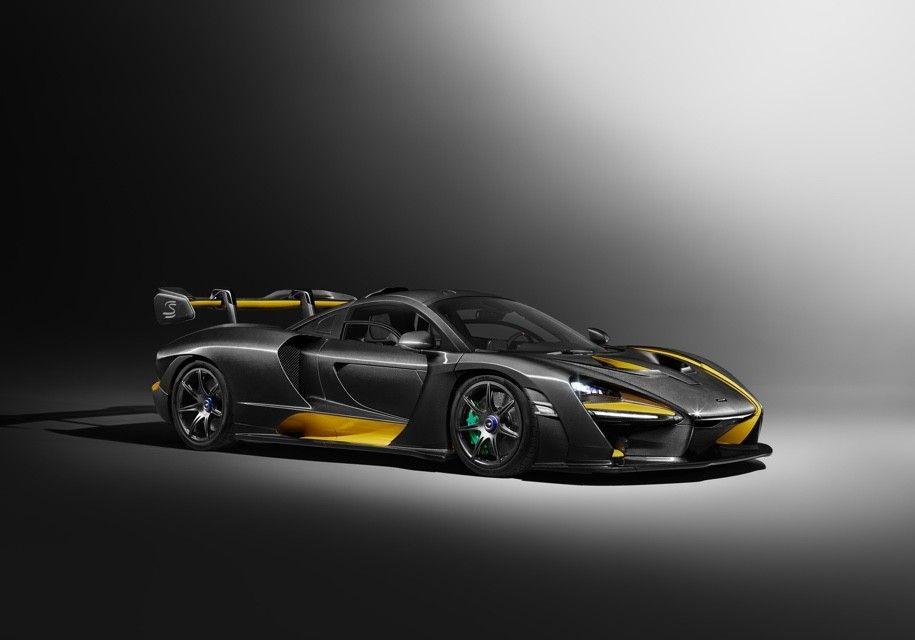 McLaren сделал купе Senna в цветах шлема Айртона Сенны