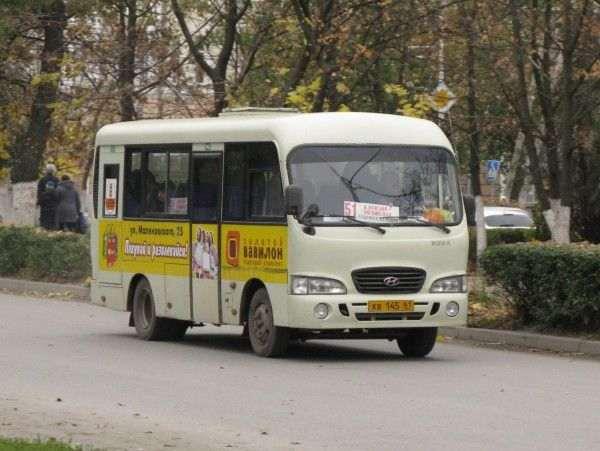 В Ростове автобус «взял в заложники» пассажиров