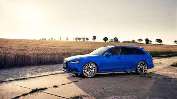 Audi выпустила 705-сильный универсал RS6 Avant