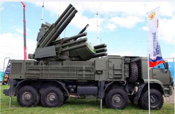 На вооружение ВКС поступят в этом году ЗРПК «Панцирь-С»