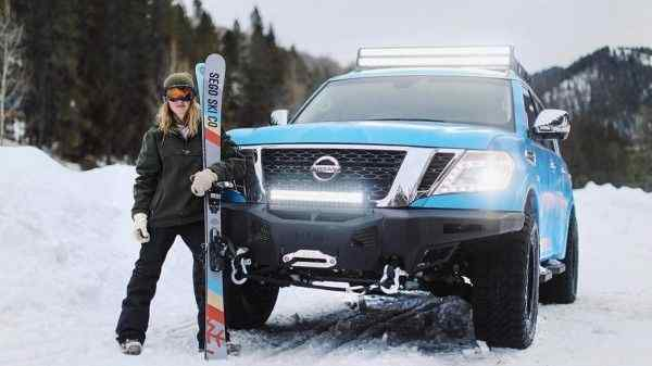 Nissan представит внедорожник Armada в версии Snow Patrol