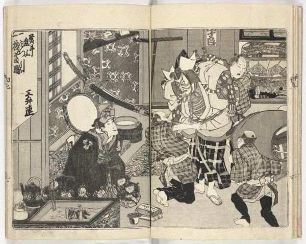 В Нижнем Новгороде проходит выставка японской гравюры периода Эдо