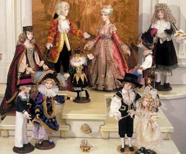 В Торжке пройдёт выставка 100 уникальных кукол с разных континентов