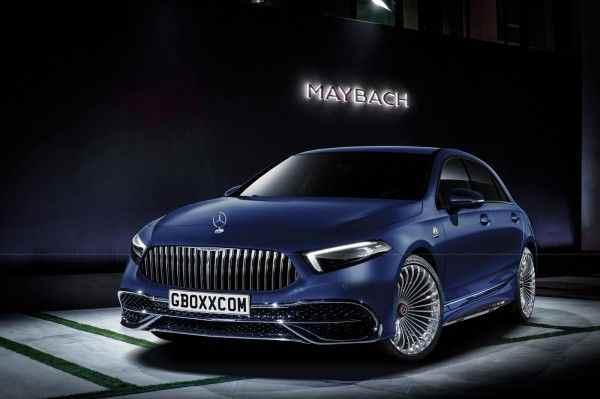 Хэтчбек Mercedes-Benz A-Class «примерил» роскошную отделку от Maybach