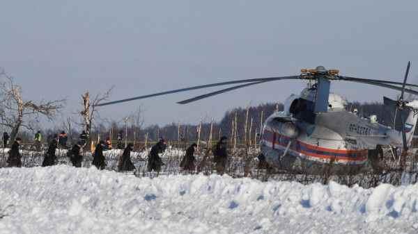 Поисковики завершают работы на месте катастрофы Ан-148