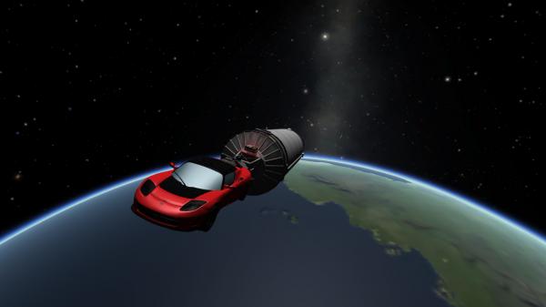 Спорткар Tesla может вернуться на Землю спустя миллионы лет