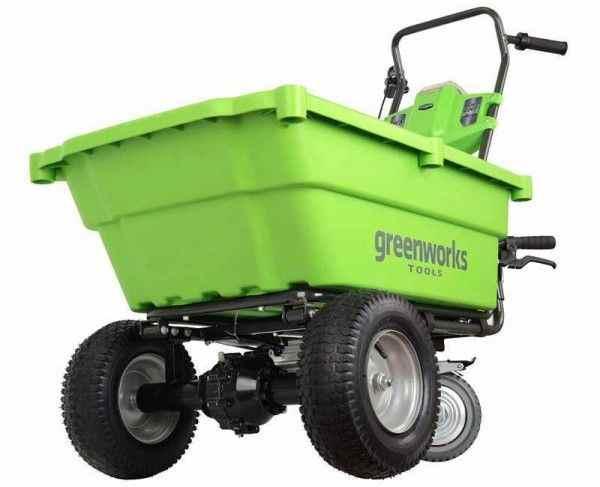 Садовая техника greenworks для вашего дома