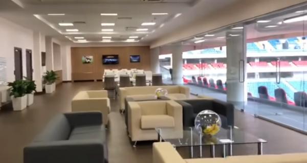 Опубликовано видео VIP-ложи «Ростов-Арены» за 200 тысяч рублей