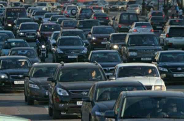 В Казани зафиксировали 5-километровую пробку