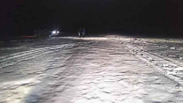 В Свердловской области пьяный мужчина упал со снегохода и погиб