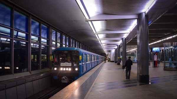 Московское метро усиленно работает из-за ухудшений погоды