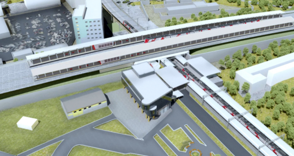 В Москве построят железнодорожную станцию в стиле авангард