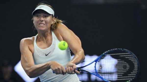 Мария Шарапова опустилась на две строчки в рейтинге WTA