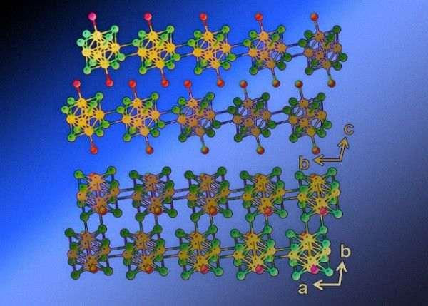 Химики создали первый двумерный полупроводник