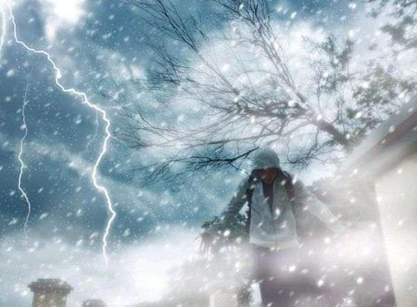В Новочеркасске люди шокировало аномальное природное явление