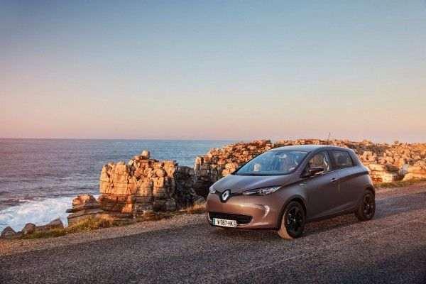 Renault увеличила мощность электрокара Zoe