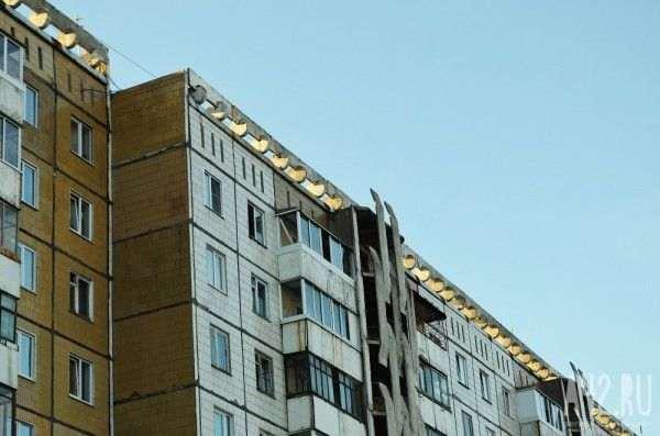В Новокузнецке пожилая женщина погибла при падении с 9-го этажа