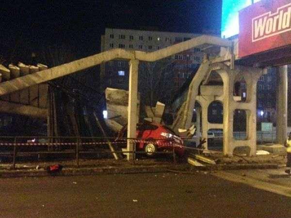 Во Владивостоке восстановили обрушенную в ходе ДТП лестницу виадука