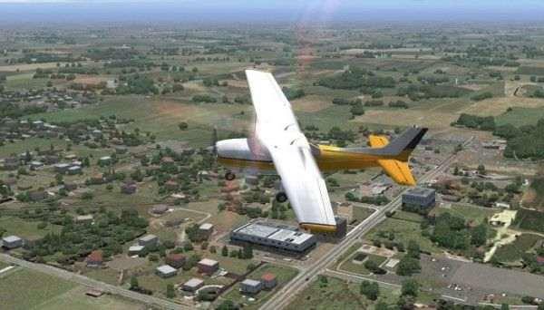 Разработчики FSLabs специально вписали вирусы в игру Flight Simulator X
