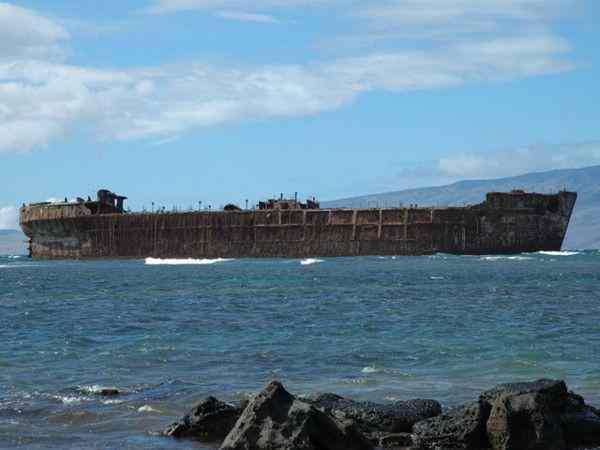 Заброшенное нефтеналивное судно обнаружили на Иркутском водохранилище