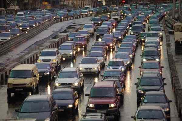 В Нижнем Новгороде зафиксированы пробки в 9 км