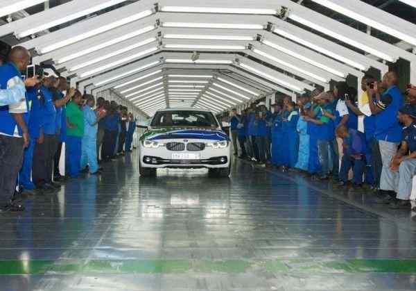 В Южной Африке прекратилось производство BMW 3 Series