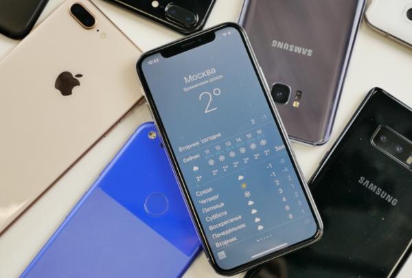 Впервые в истории сократились продажи смартфонов
