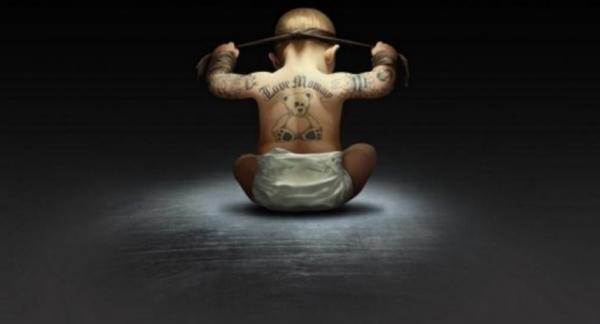 В Смоленске тату салон изуродовал малыша ради прибыли