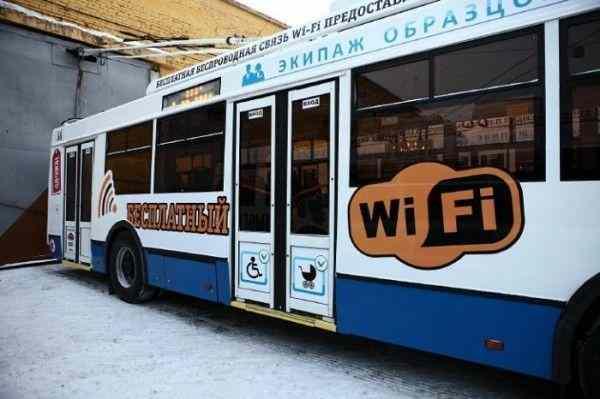 В Троллейбусах Калуги запустят бесплатный WI-FI