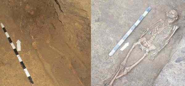 В Ростове обнаружили захоронение мужчины и женщины