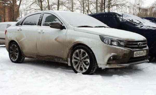 В Сургуте тестируют новый LADA Vesta Sport