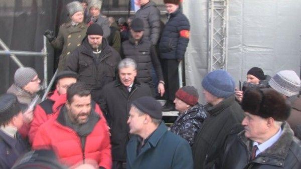 На митингах КПРФ 23 февраля в Москве присутствовали всего 300 граждан