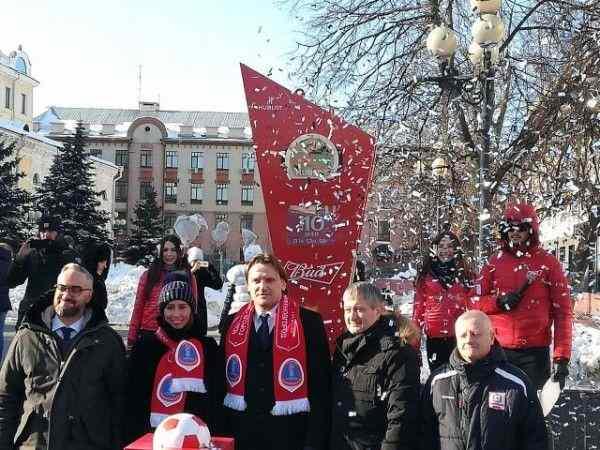 В Нижнем Новгороде установили часы обратного отчета до начала ЧМ-2018